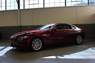 2014 BMW 6-Series Base Sedan 4-Door BEAUTIFUL 2014 BMW 640i GRAN COUPE X-DRIVE, LOADED WITH OPTIONS, JUST SERVICED!