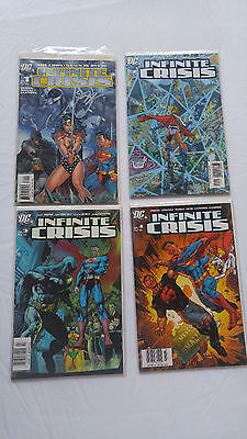 Infinite Crisis (2005) Issues 1-7 (Complete Set).  Issue #1 Signed. NM