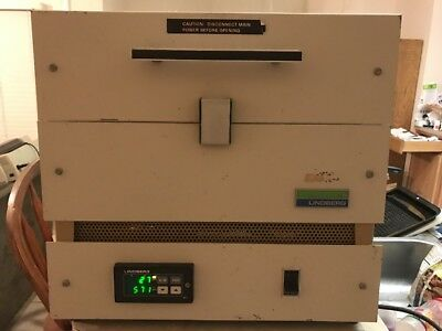 Lindberg Blue M Benchtop Laboratory Tube Furnace * Type: 55035 For Parts Repair