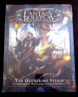 Warhammer The Gathering Storm - NEW SEALED - WFRP 3rd edition
