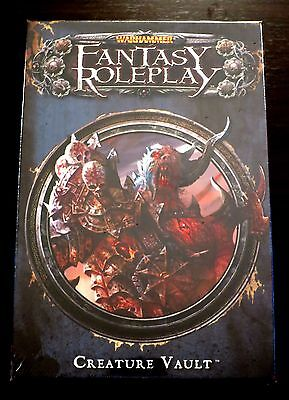 Warhammer Creature Vault Set - NEW SEALED - WFRP 3rd edition