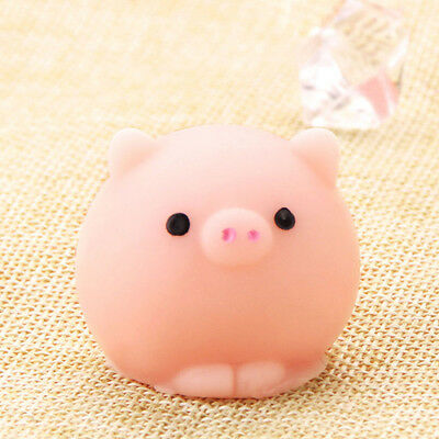 1pc Funny Pig Ball Squishy Healing Squeeze Adult Kid Toy Gift Stress Reliever