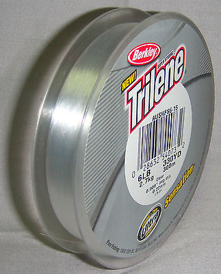 Berkley Trilene Sensation 6lb x 300m Clear Mono Line *New in Packaging*