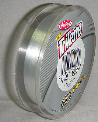 Berkley Trilene Sensation 20lb x 300m Clear Mono Line *New in Packaging*