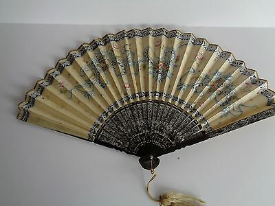Antique Ladies Fan  (Item#76)