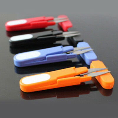 1PC U type Small Scissors Cross-stitch Sewing Fishing Multifunction Cutter Tool