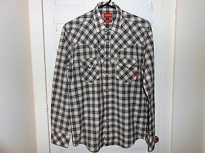 R M Williams Longhorn Western Shirt  size S, Great Condition