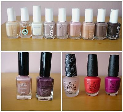 ☆ Make up / Maquillage ☆ ESSIE / OPI / HEMA ☆ Lot de Vernis à ongles