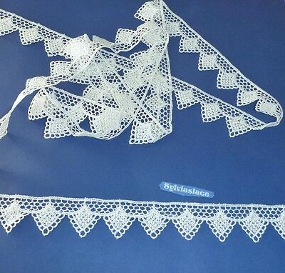 3  metres  of   Beautiful   Ivory      Guipure    Lace        3 c m   Wide