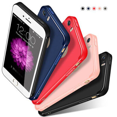 For Apple iPhone 5 5s SE Hybrid Case Silicome Ultra Thin Shockproof Cover Bag