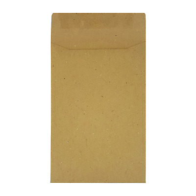 Small Brown Envelopes 98x67mm Ideal for Dinner Money Wages Coins Beads and Seed