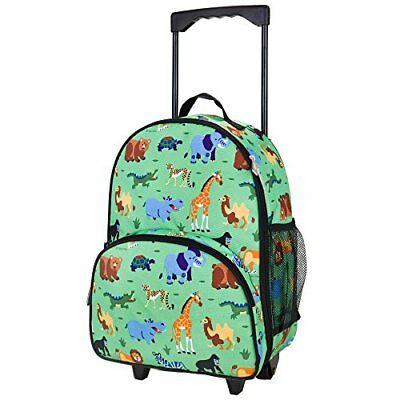 Olive Kids Wild Animals Rolling Luggage