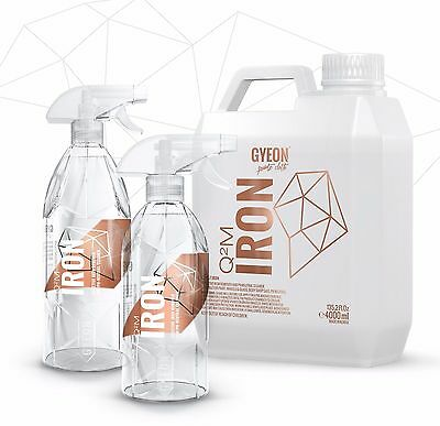 GYEON IRON Q2M Nano Neutral pH Removal Spray Iron Dust For Metal Parts Wheels