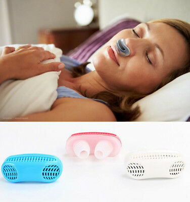 Silicone Anti Snoring Stopper Device Air Ventilator for Sleeping Breathing
