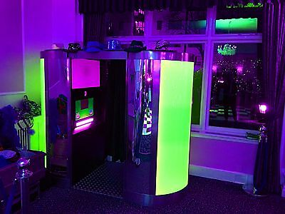 Led Photo Booth Business For Sale Beat The Competition Plus Box Trailer Included