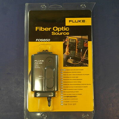 Brand New Fluke Fiber Optic Source FOS850, See Details