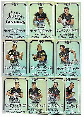 2017 NRL Elite Silver Parallel Special PANTHERS Team Set