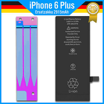 Ersatz Akku 2915mah für Original Apple iPhone 6 Plus Batterie Battery Accu