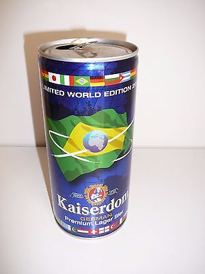 Empty Kaiserdom German Beer Can Limited World Edition 2014 Collectable