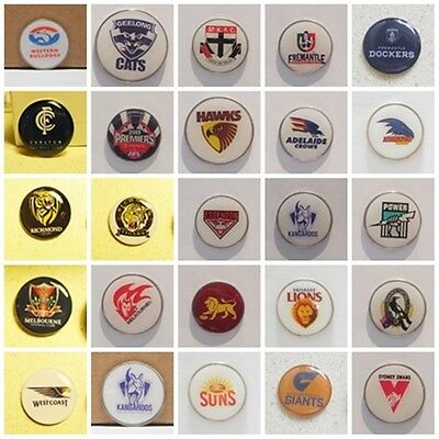 Golf Ball Markers Magpies, St Kilda, Geelong, Freemantle,brisbane,add A Hat Clip