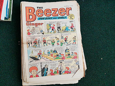 BEEZER COMIC - 49 issues from 1972