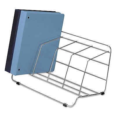 "Fellowes Catalog Rack 16-1/2""x10""x8"" Chrome Plated 10402"
