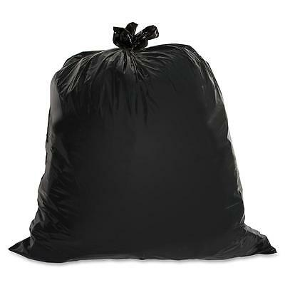 Genuine Joe Heavy-Duty Trash Bags 1.5 Mil 55-60 Gallon 50/CT Black 01535