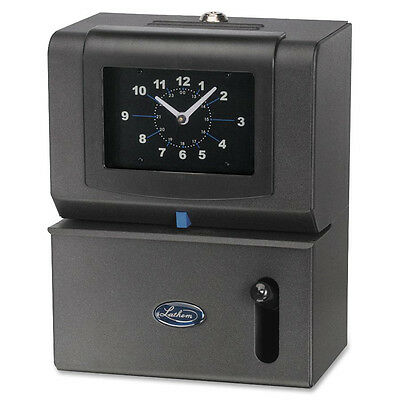 "Lathem Time Manual Time Clock Mnth/Date/Hours/Minute 8""x10W-1/4""H CCL 2101"