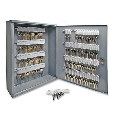 "Sparco Secure Key Cabinet,Locking,160Keys,16-1/2""x4-7/8""x20-1/8"",GY 15605"