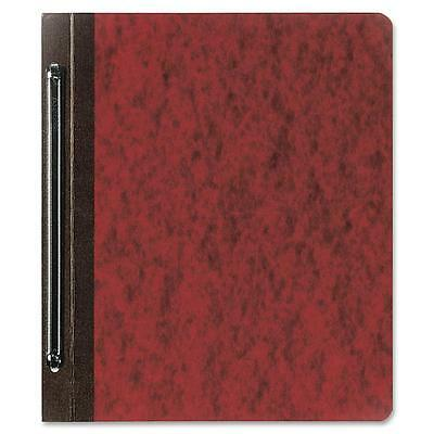 "AbilityOne Program Report Cover Pressbrd 6"" Cap. 8-1/2""x11"" 25/Box Earth Red"