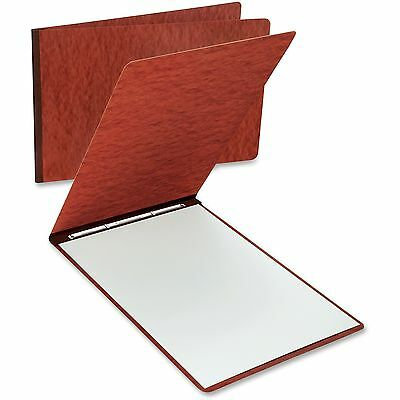 "TOPS Pressboard Report Cover 11""x17"" 3"" Cap. 2 Fstnrs 25/BX Red 13234EA"