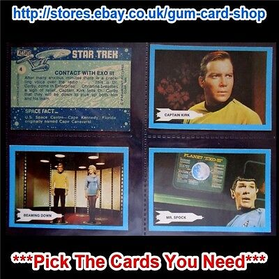 A&Bc Star Trek 1969 (Excellent Condition) **Pick The Cards You Need**
