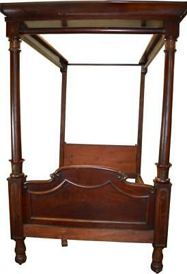 18241 Civil War Era Canopy Bed
