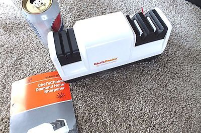 Chefs Choice Model 100 Heavy Duty Professional Electric Knife Sharpener W/ Instr