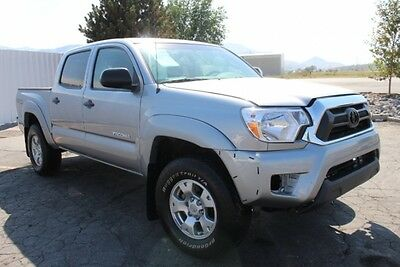 2015 Toyota Tacoma Double Cab V6 2015 Toyota Tacoma Double Cab 4WD Wrecked Salvage Repairable Export Welcome L@@K