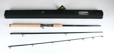 St. Croix TIC76MHF3 Tidemaster Inshore Casting 3 Piece Travel Rod