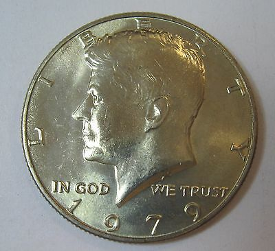 1979 John F Kennedy Clad Half Dollar In Choice BU Condition From Mint Set  DUTCH