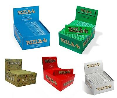 Rizla Rolling Paper Tips Booklets - Box of 50 Booklets