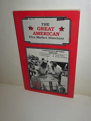 The Great American Flea Market Directory Paperback Guide Book Volume 14 1991