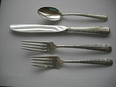 Towle Sterling 4 Pc. Place Setting - Candlelight - No Mono