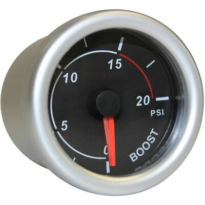 SAAS Autoline Gauge - Black Face, 52mm, Diesel Boost, SG71212