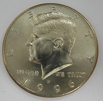 1996-P John F Kennedy Clad Half Dollar Choice BU Condition From Mint Set  DUTCH