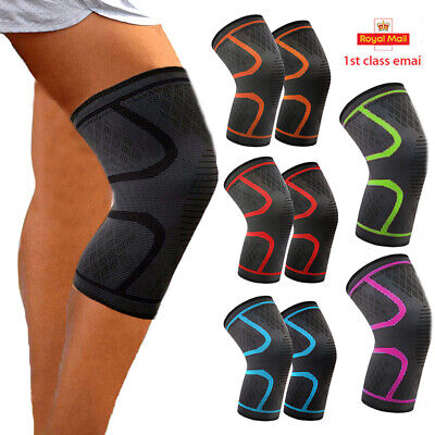 Knee Support Strap Arthritis Pain Relief Sport Gym Patella Protect Kneepad UK AM