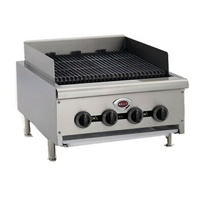 "Wells HDCB-3630G 36"" Wide Natural Gas Countertop Charbroiler"