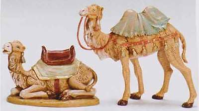 7.5 Inch Scale Fontanini 2 for Price of 1,  Seated Camel and Standing Camel