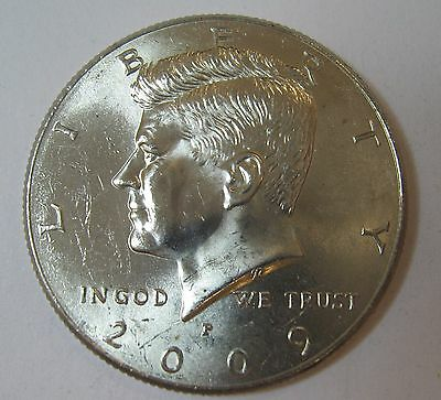 2009-P John F Kennedy Clad Half Dollar Choice BU Condition From Mint Set  DUTCH