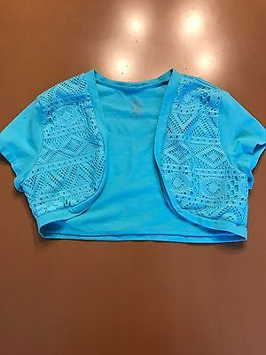 The Childrens Place Blue Shrug Size 14