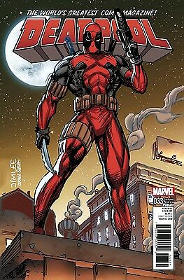 Deadpool 33 Vol 5 Jim Lee X-Men Card Variant Nm