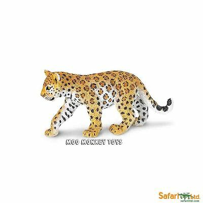 LEOPARD CUB baby Safari Ltd # 271629  Africa  Asia  Wild Animal Replica  NWT
