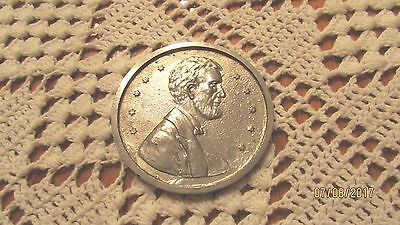 """Large 3"""" Souvenir Novelty Penny Of St. Paul (Silver Colored)"""
